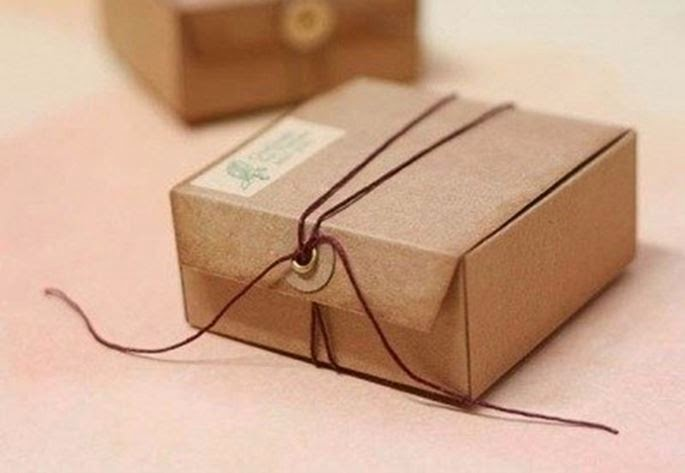 Подарочные коробки украшенные своими руками