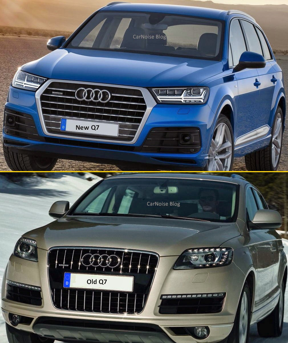 Comparison: Audi Q7 New Vs Old - How Different