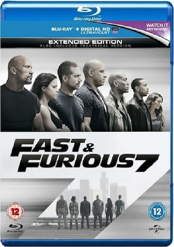 Fast and Furious 7 (2015) Bluray 720p Movie Download