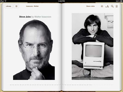 Steve Jobs biography iBook