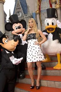 Goofy, Mickey, Jessica and Donald