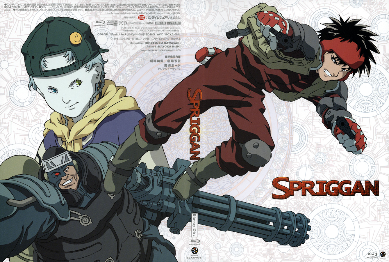 ANIME] Spriggan (Mediafire) BluRay 720p