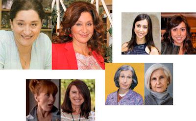 Chiqui Fernández, Carmen Ruiz, Gracia Olayo y Teresa Lozano en Mujeres