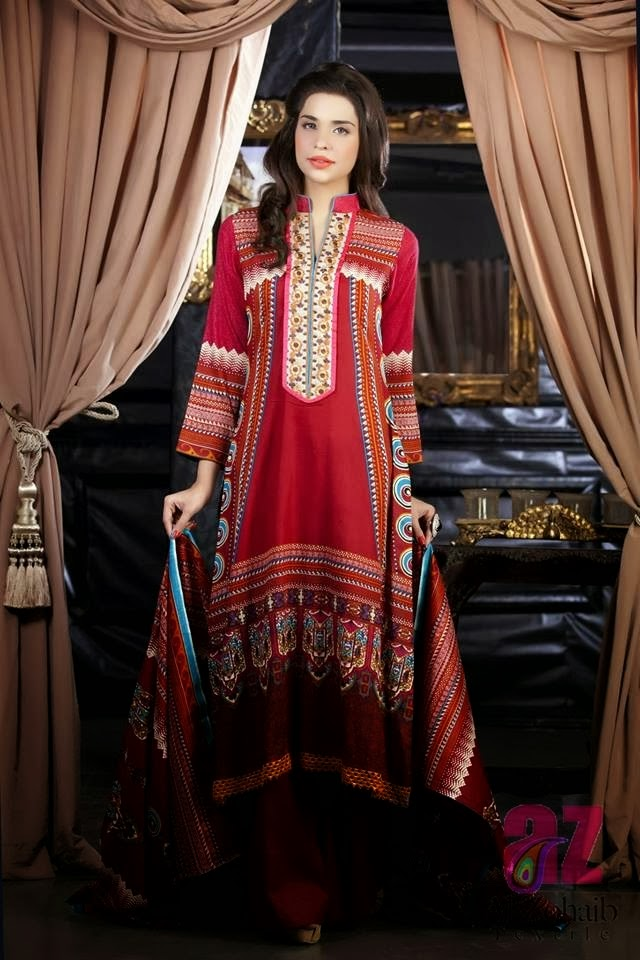 Beautiful Red Lawn Collection 2014