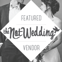 Not Wedding Vendor