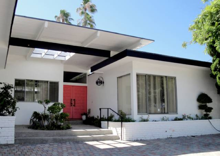 Mid century modern homes exterior paint color interior for Modern house for sale