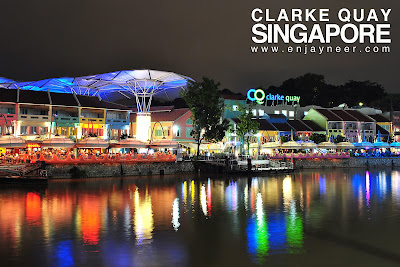Clarke Quaye, Singapore at night, SG, Clarke Quay Night Life, Asia, Hooters