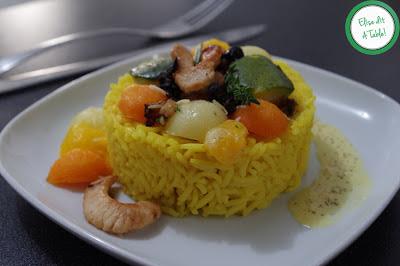 Potiron et légumes au curcuma