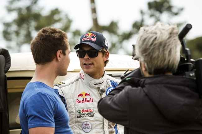 Interview Andreas Mikkelsen – Volkswagen at WRC Rally Portugal