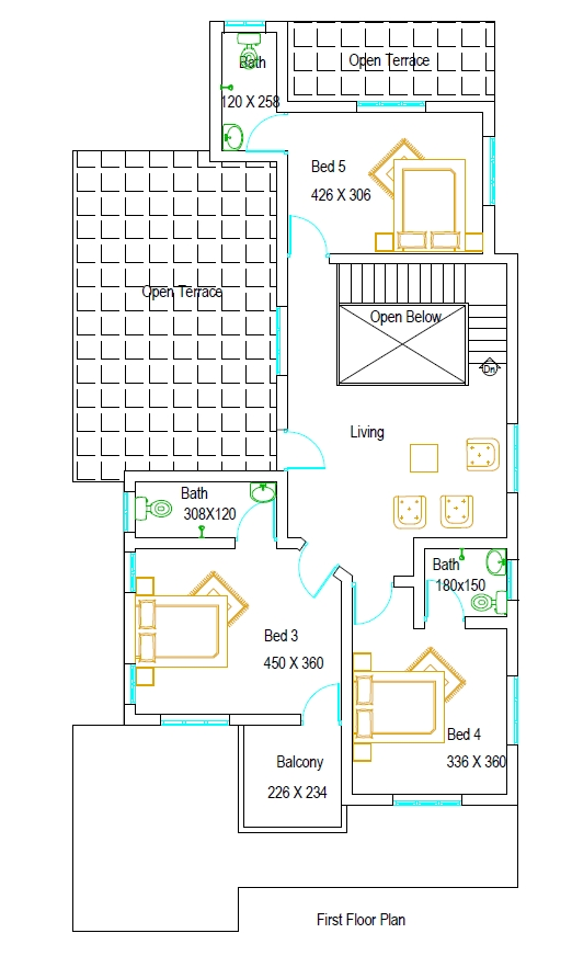 A 5 Bed Home in 8 cent plot | PLAN MY HOME