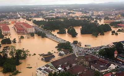 Flood In Pahang, Flood In Malaysia, Worst Flood Ever