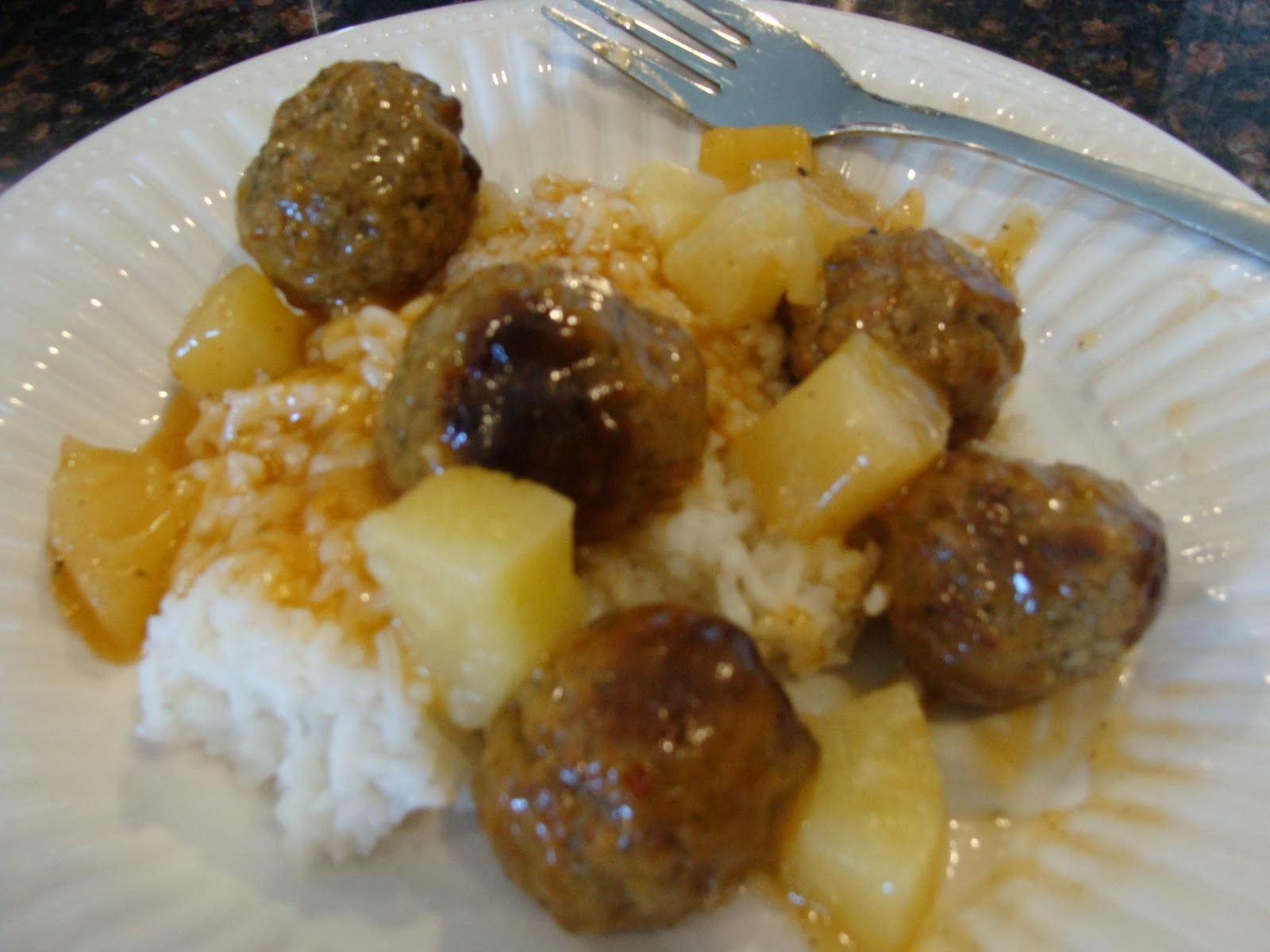 ... Italian, Asian, Grilling, Steaks & More: Cantonese Pineapple Meatballs