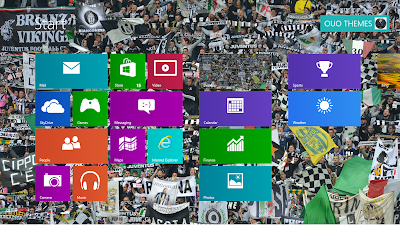 Juventus Fc Theme For Windows 8, Juventus Suporters Wallpaper