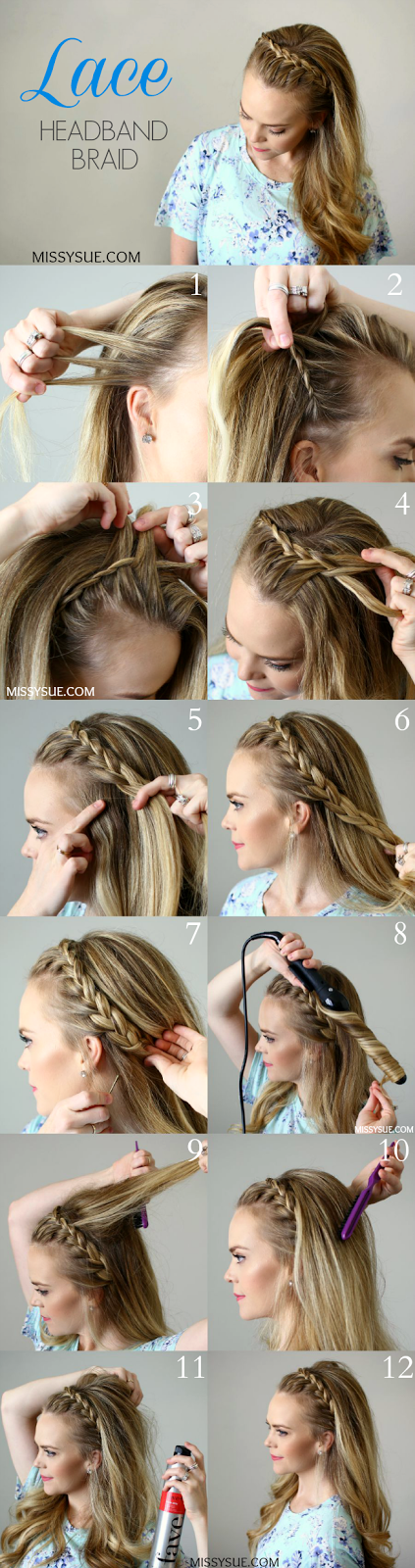 http://missysue.com/2015/08/lace-headband-braid/