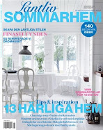 Ls om oss i tidningen Lantliv Sommarhem!