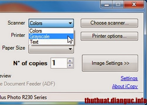 Thủ thuật biến máy in và máy quét thành máy photocopy