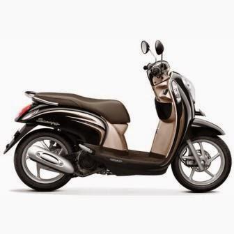 Honda Scoopy FI Fancy Black