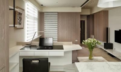 oficina en barra cocina