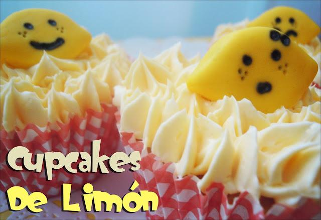 Receta de Cupcakes de Limón