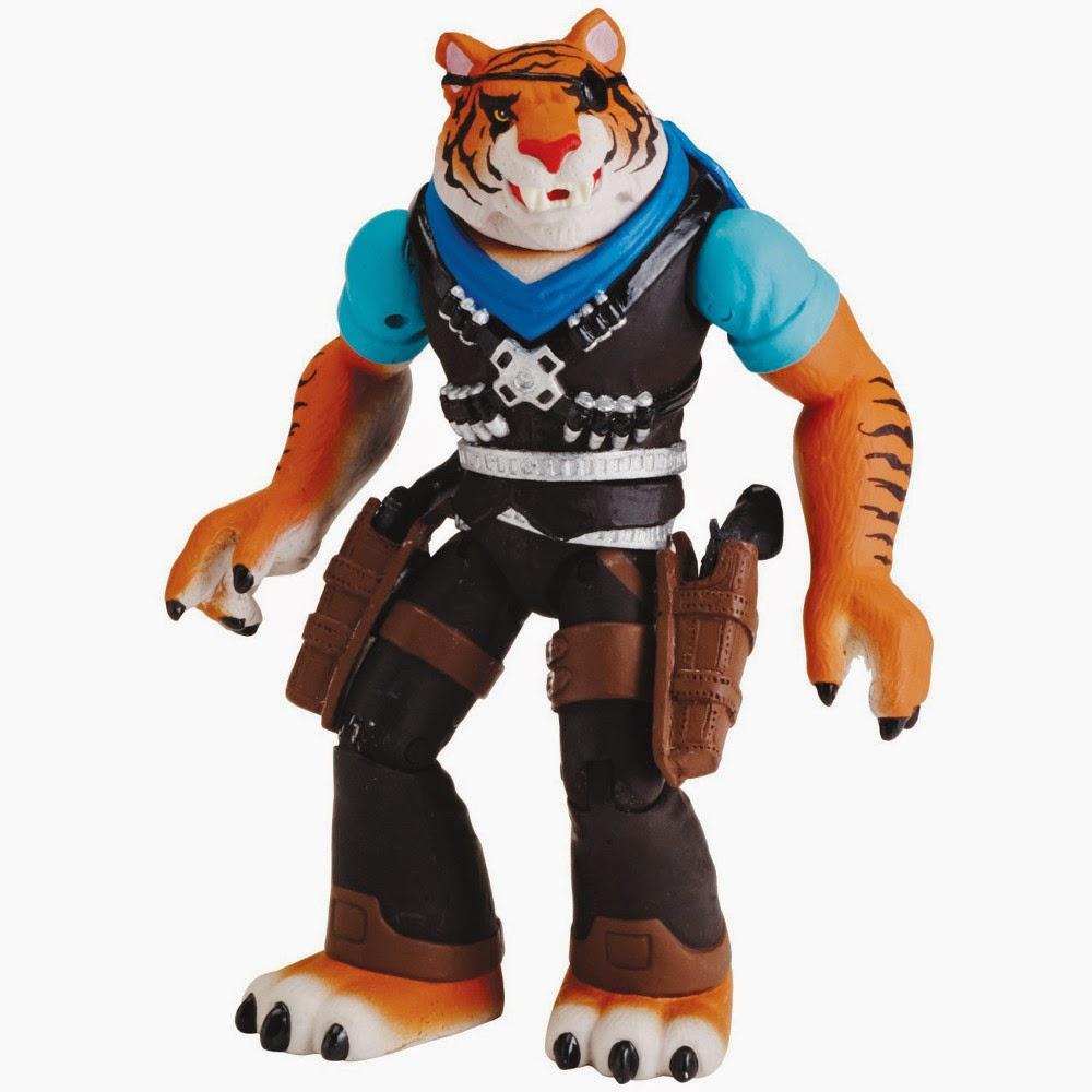 JUGUETES - LAS TORTUGAS NINJA  Tiger Claw | Garra de Tigre | Figura - Muñeco  Producto Oficial | Playmates 90544 | A partir de 4 años