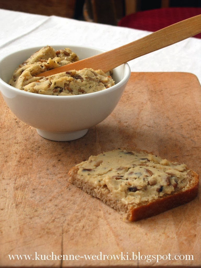 Pasta z fasoli wrzawskiej i słonecznika