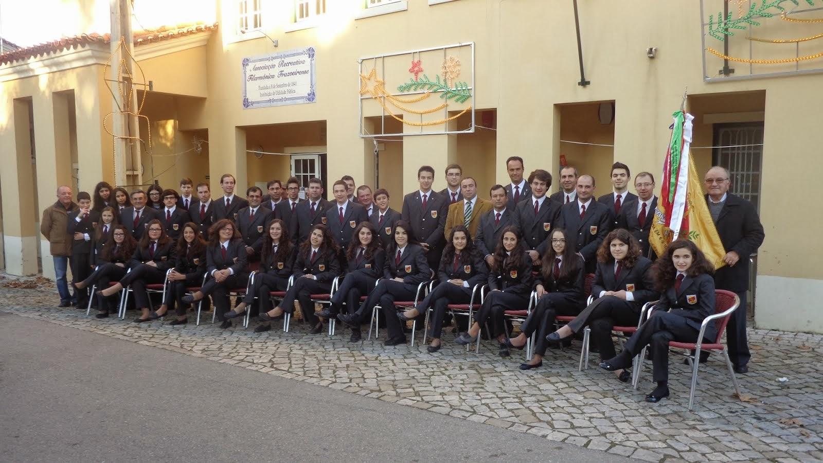 Filarmónica Frazoeirense. Reserve já a data da sua festa