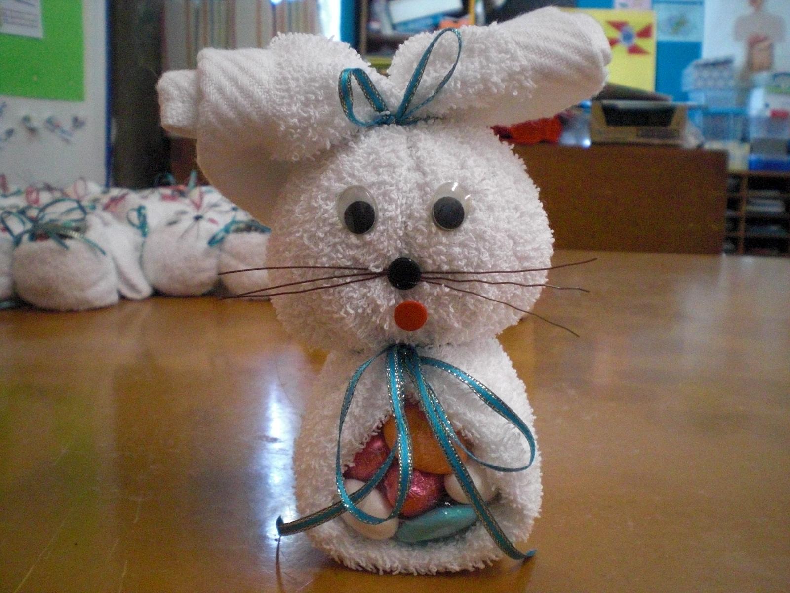 coelho feito com toalha de felpo Fotos%2B120
