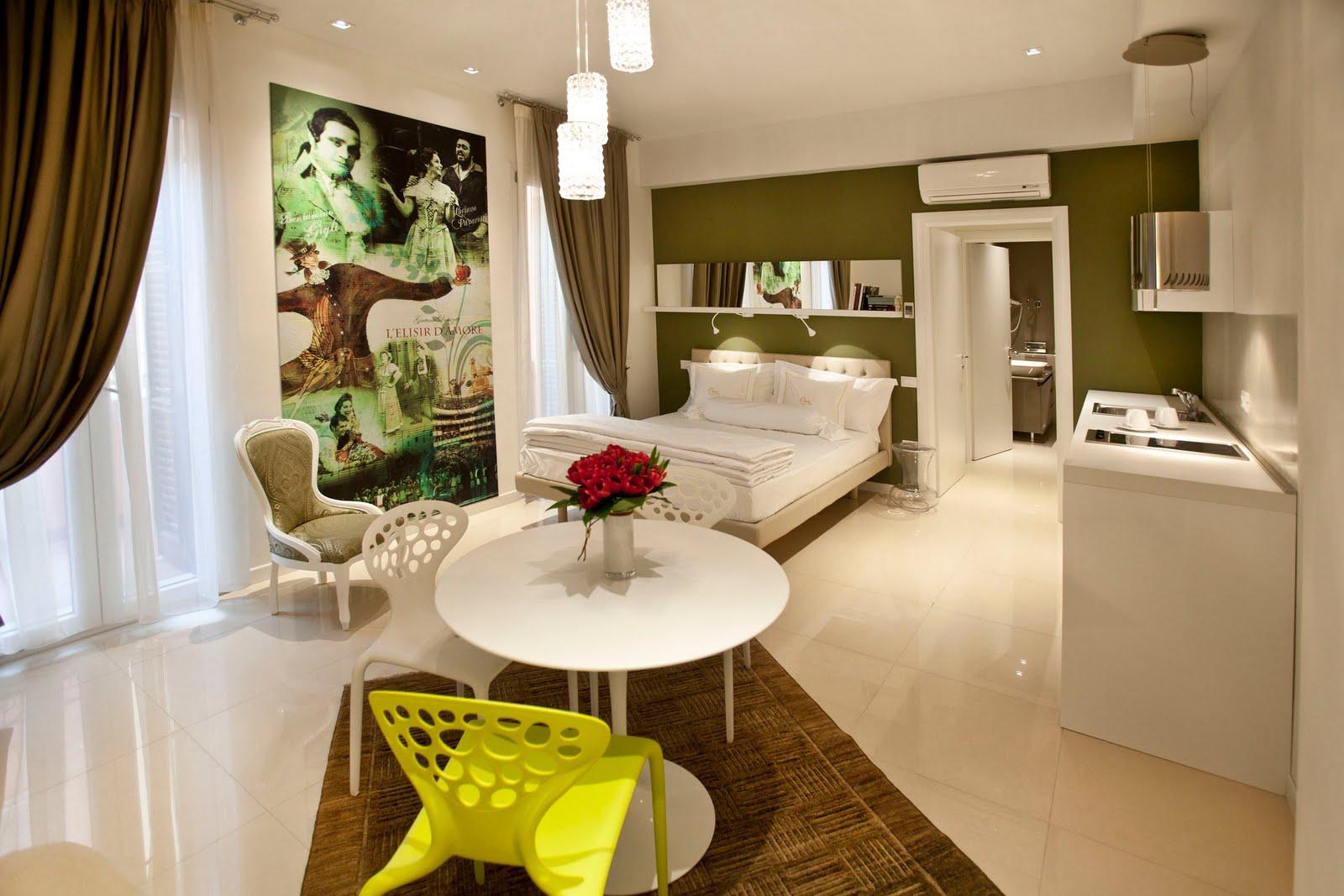 Vacanze architettura design appartamenti a verona for Appartamenti design