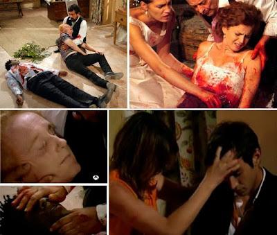 Muerte múltiple en 'Los hombres de Paco', boda de Silvia y Pepa