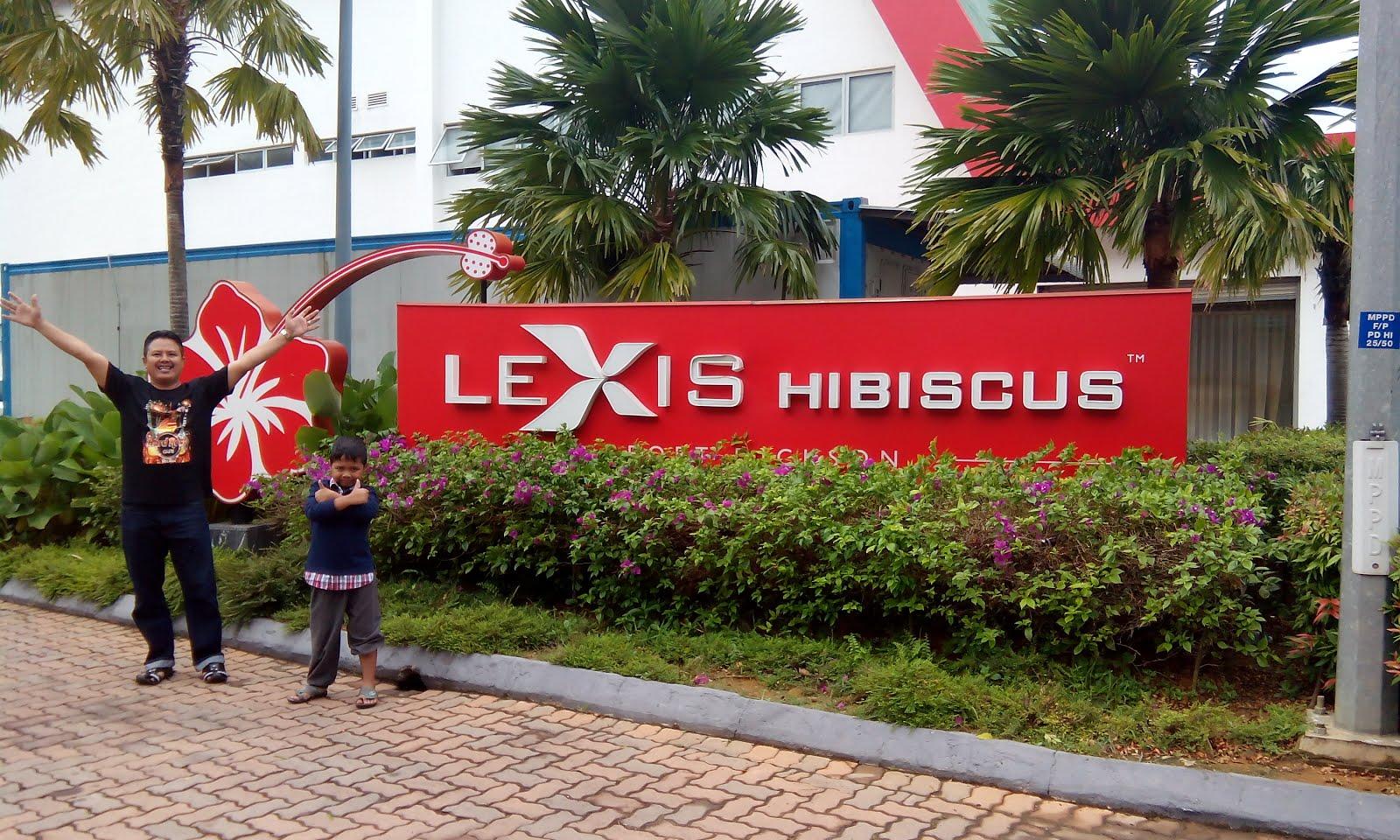 SANTAI PERCUMA 2H1M @ LEXIS HIBISCUS PD