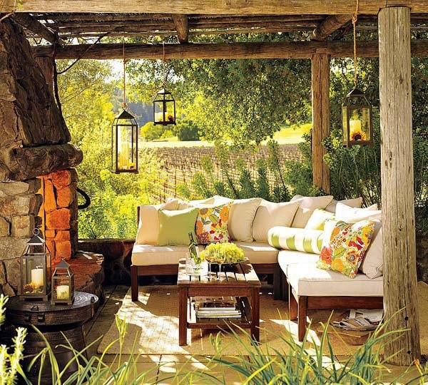 ideias jardim exterior: Decoração: Ideias para Decorar o Seu Jardim ou Espaço Exterior