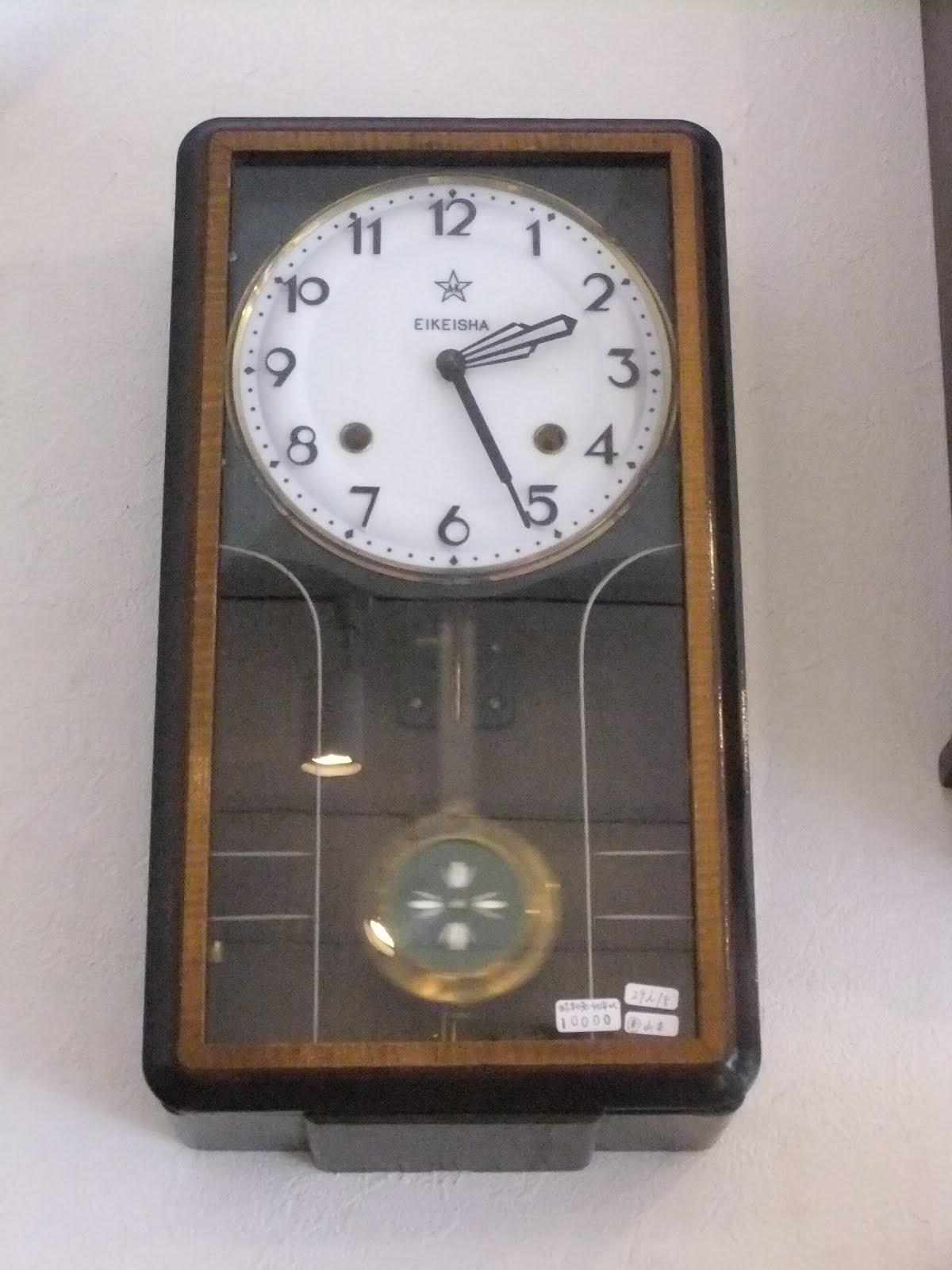 昭和30~40年代エイコー社掛け時計