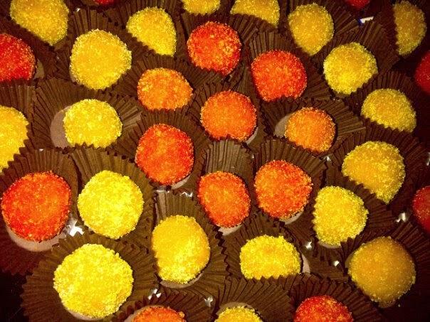 Los dulces abrillantados