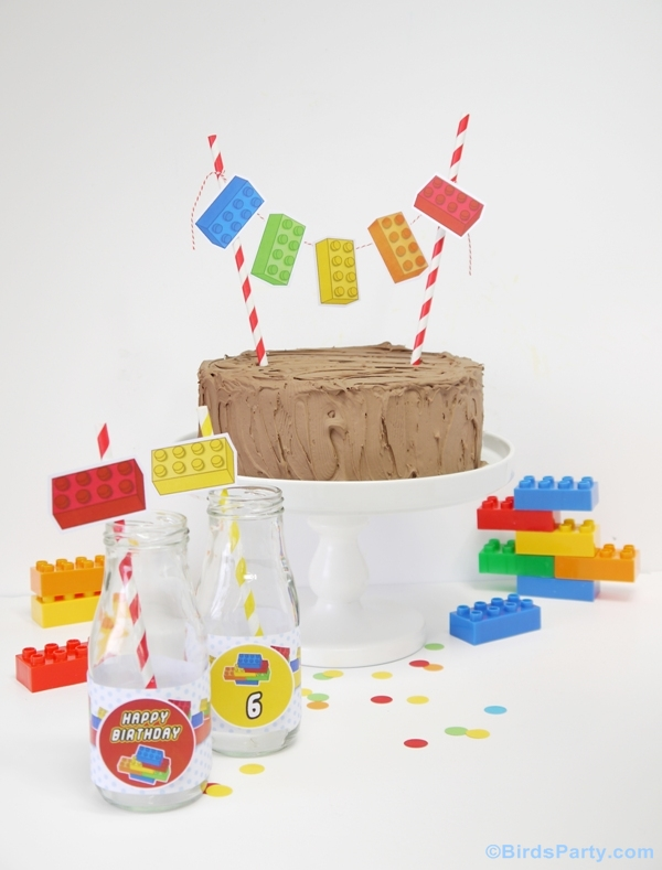 Kids Party Ideas A Lego Inspired Birthday