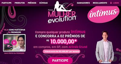 """PROMOÇÃO INTIMUS 2012 """"MULHER EVOLUTION"""""""
