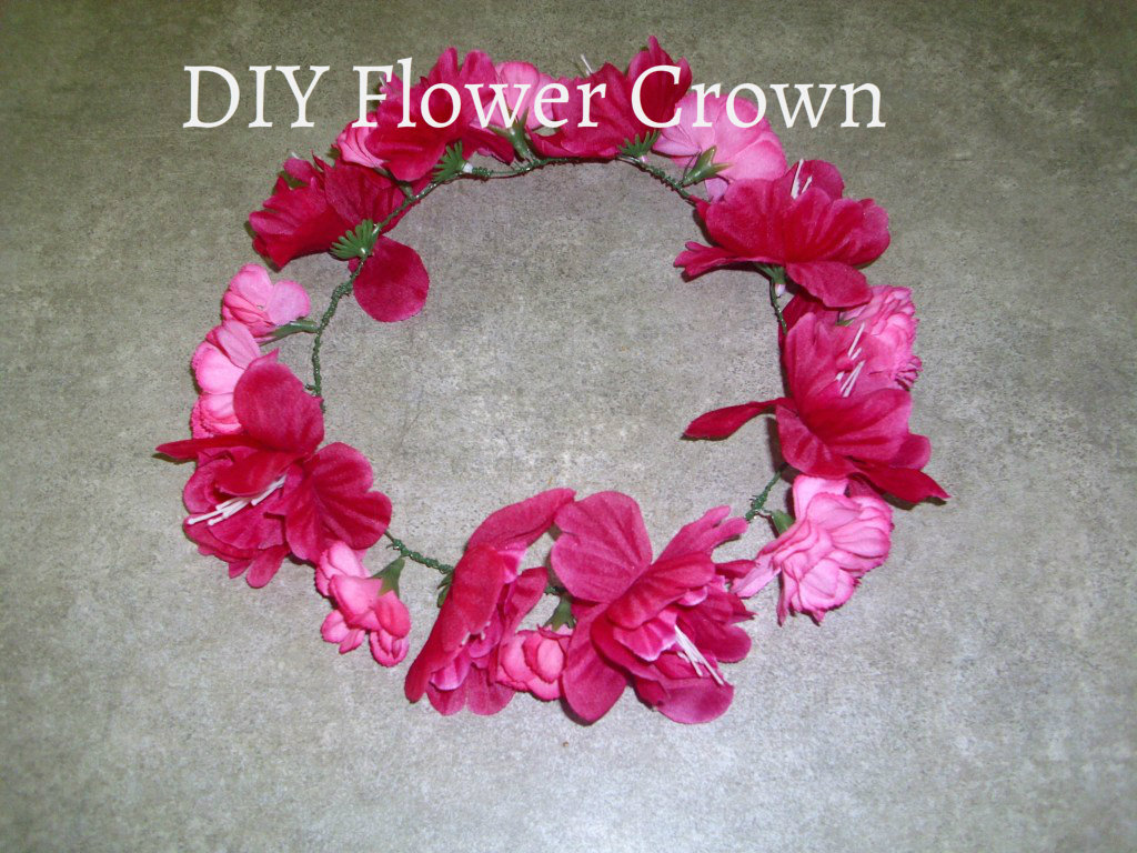 Fashion Trends & More DIY Flower Crown