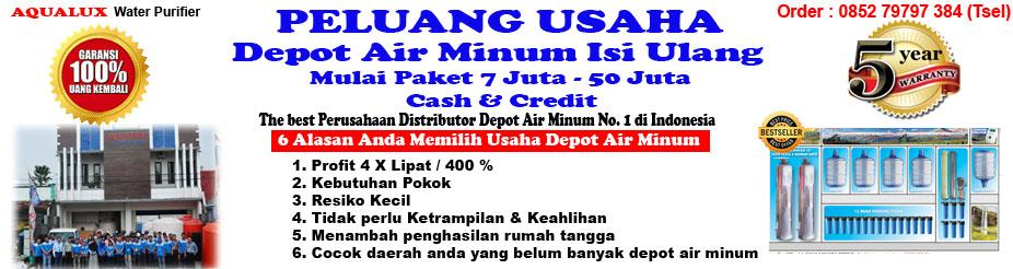 Air Isi Ulang Galon, 085279797384 mulai 7 juta Depot Air Minum Aqualux Semarang