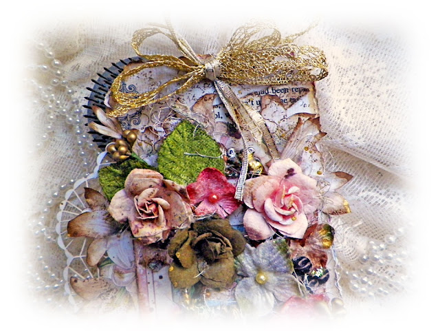 "Gilded Lily Tag created by Lisa Novogrodski for Scraps of Elegance using the September Kit ""Lisa's Sweet September"""
