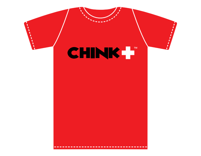 Get a FREE Chink+ T-Shirt here!
