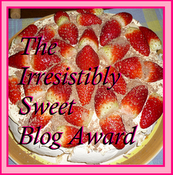 The Irresistibly Sweet Award