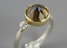 Twig Ring With Quartz