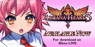 Arcana Heart 3 Logo - We Know Gamers