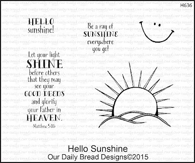 Our Daily Bread Designs - Hello Sunshine