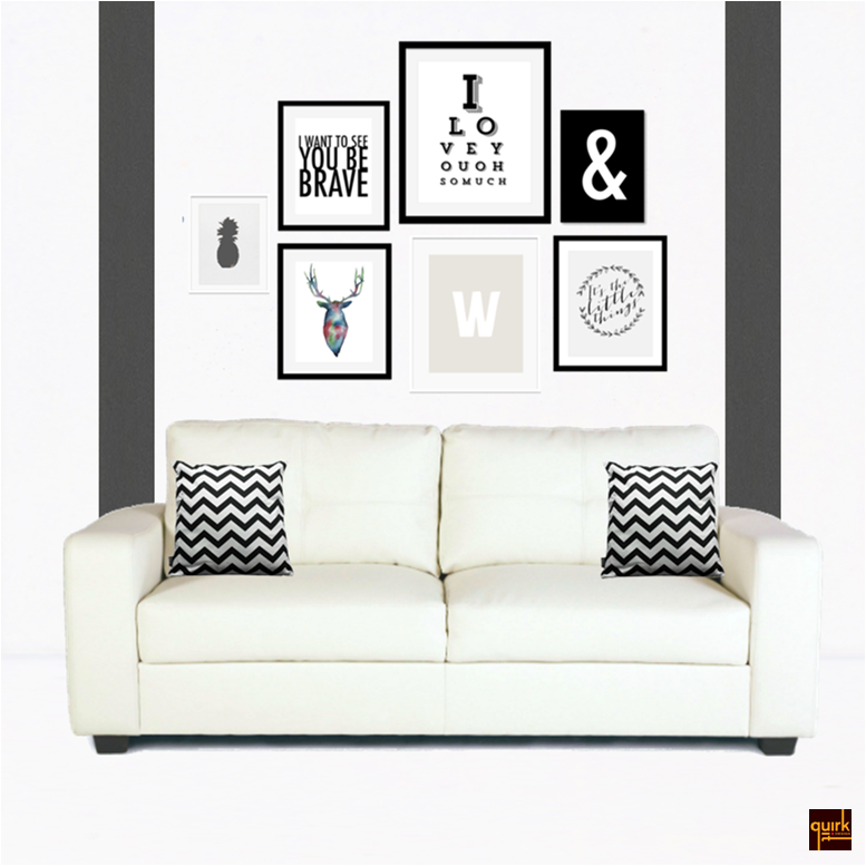 Quirk It Design_White Room Makeover_Black&White_typography_Moodboard_DIY_Quirky_Home_Decor_1