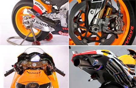 Gambar motor balap Honda