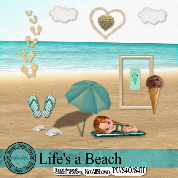 HSA Beach Life kit freebie