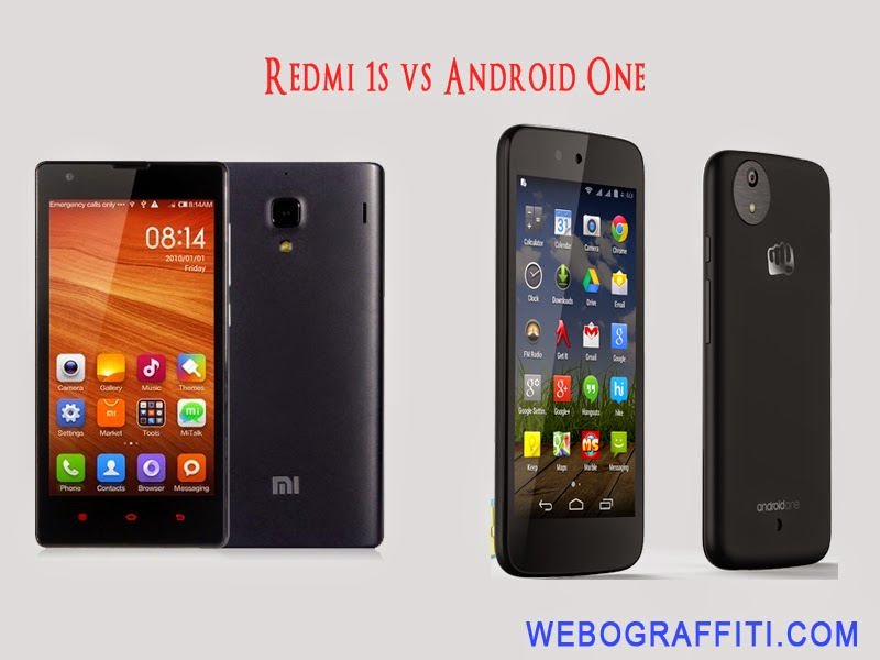 Redmi 1s vs Android One