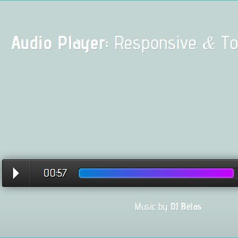 A Responsive Audio Player jQuery Plugin for Mobiles