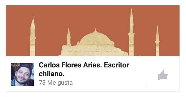Carlos Flores Arias. Escritor chileno.