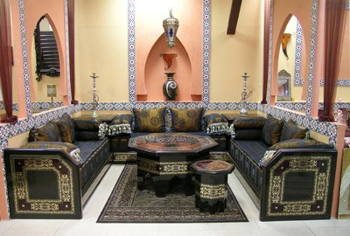 achat de salon marocain quoi faut il etre attentif. Black Bedroom Furniture Sets. Home Design Ideas